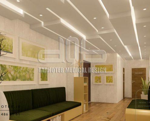 طراحی-انواع-سقف-کناف-برای-مطب-پزشکی