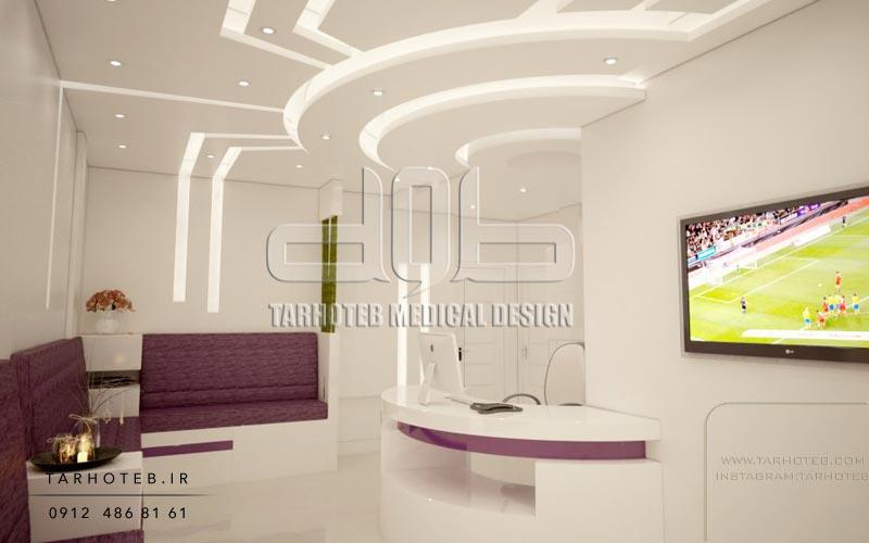 طراحی-سقف-کناف-برای-مطب