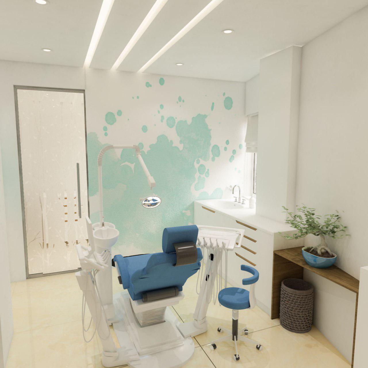 قرارگیری یونیت دندانپزشکی برای مطب اطفال