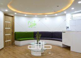 طراحی مطب دکتر خاکی