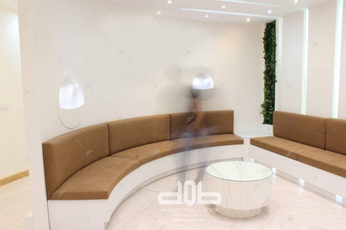 عکس های اجرا شده پروژه طراحی کلینیک دکتر ناصر (7)