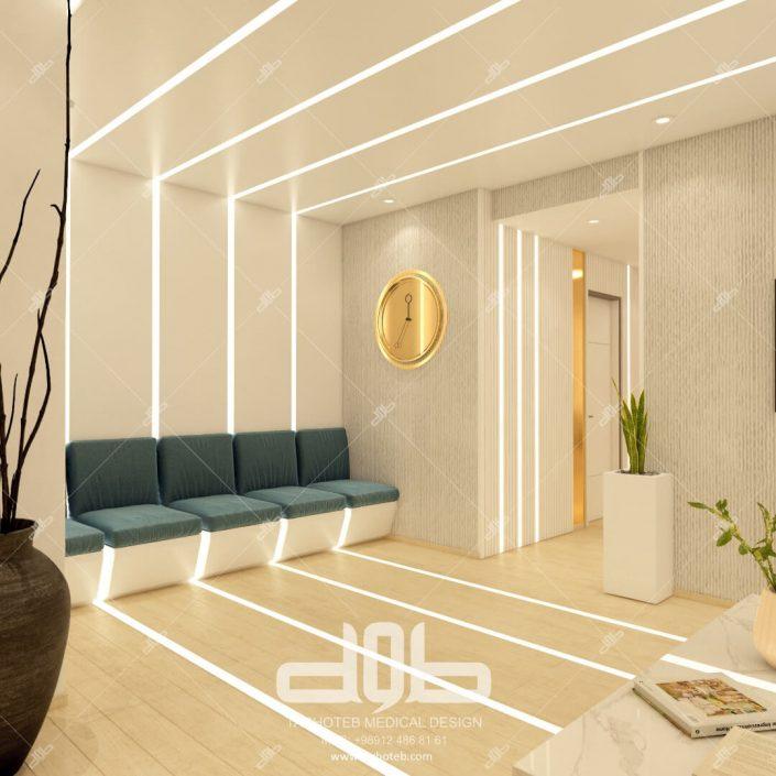 اتاق انتظار بیماران دکتر احمد رضا حسینی
