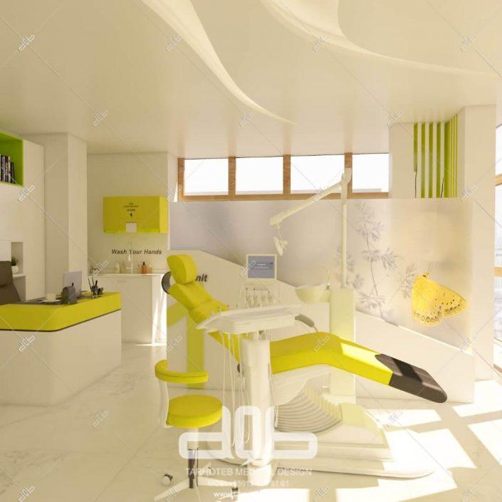 اتاق پزشک در مطب دکتر لعلی نیا