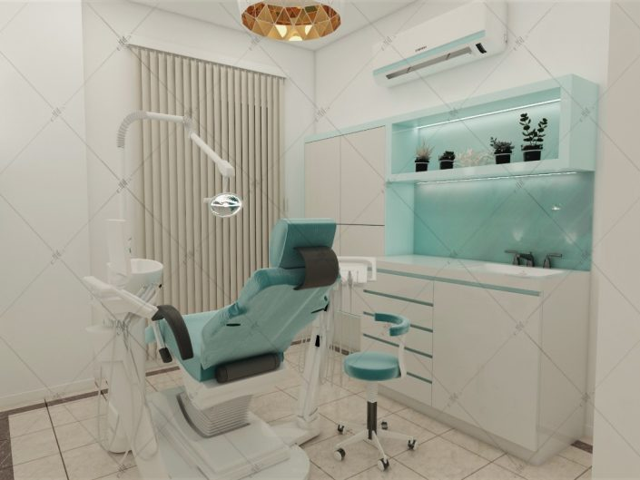یونیت دندانپزشکی مطب دکتر رئوف