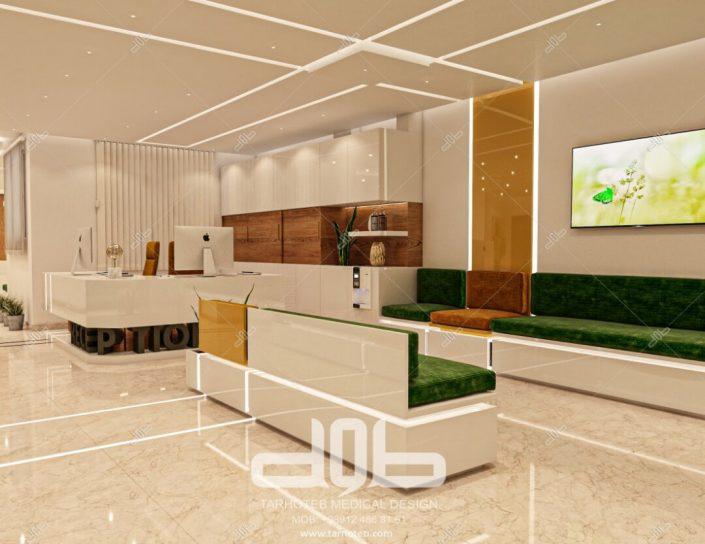 اتاق انتظار مطب دکتر محمدیانی نژاد