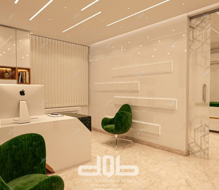 اتاق دستیار مطب دکتر محمدیانی نژاد