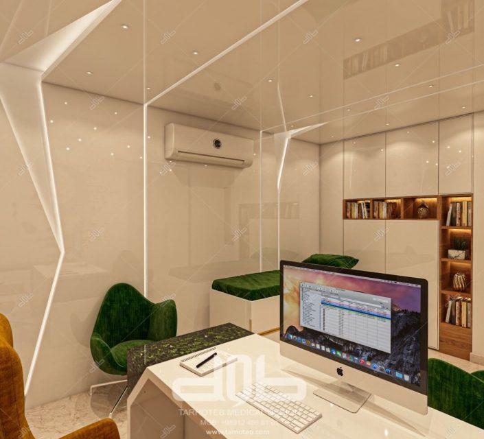 اتاق دکتر در مطب دکتر محمدیانی نژاد