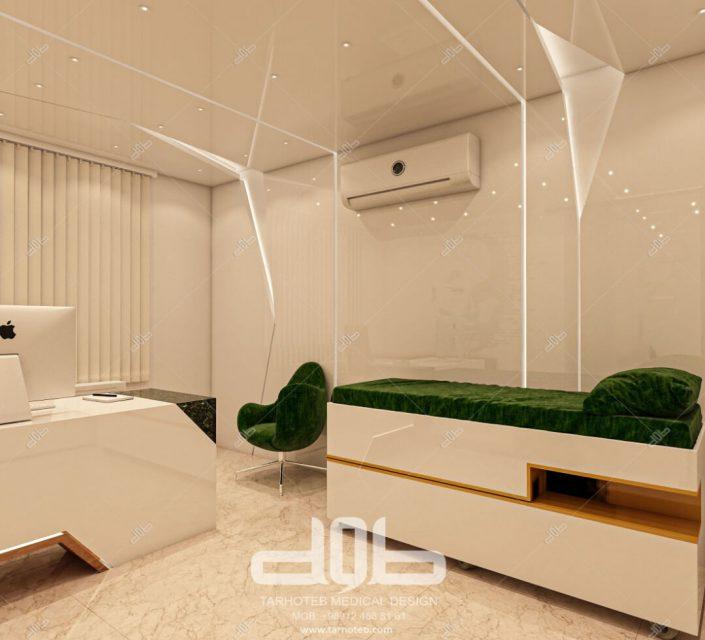 اتاق دکتر مطب دکتر محمدیانی نژاد