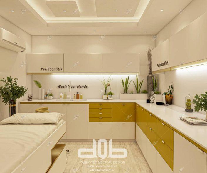 آشپزخانه مطب دکتر محمدی