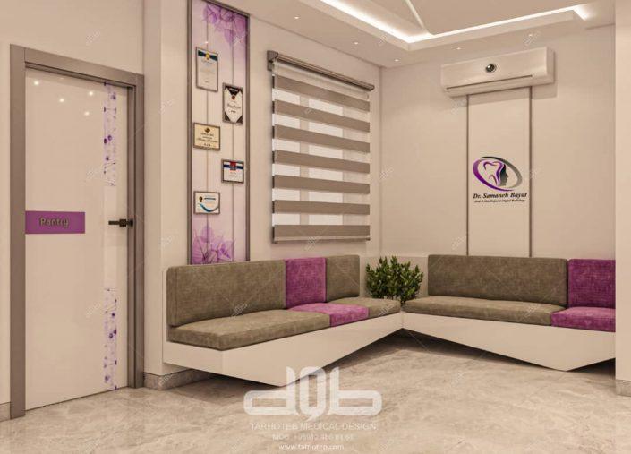 اتاق انتظار رادیولوژی دکتر بیات