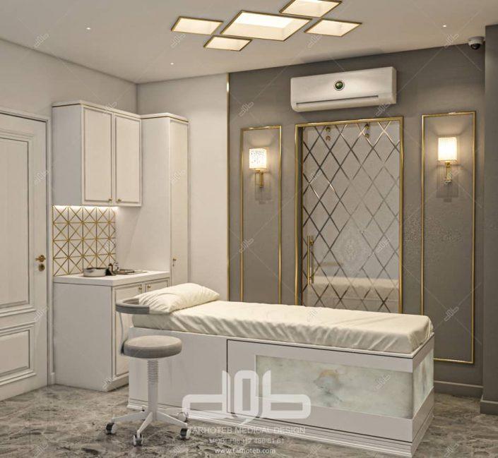 طراحی کلینیک مطب دکتر راستا