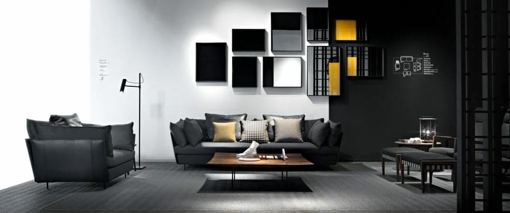 طراحی دفتر معاصر توسط طراح داخلی