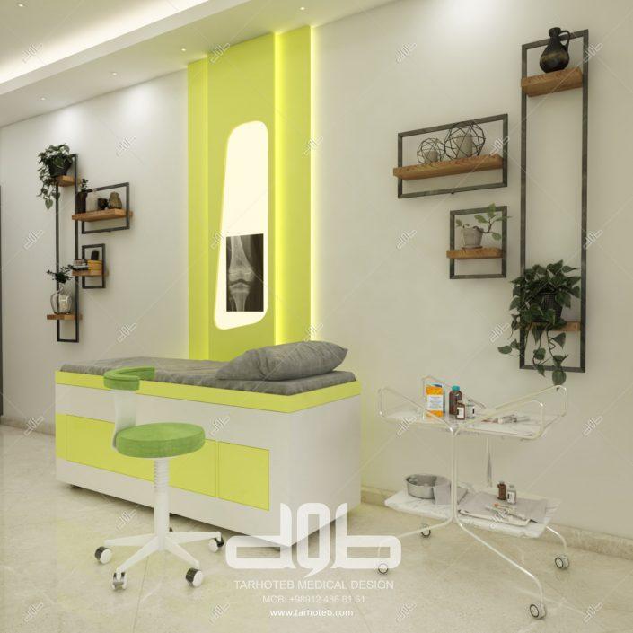 اتاق معاینه مطب دکتر غزنوی-min