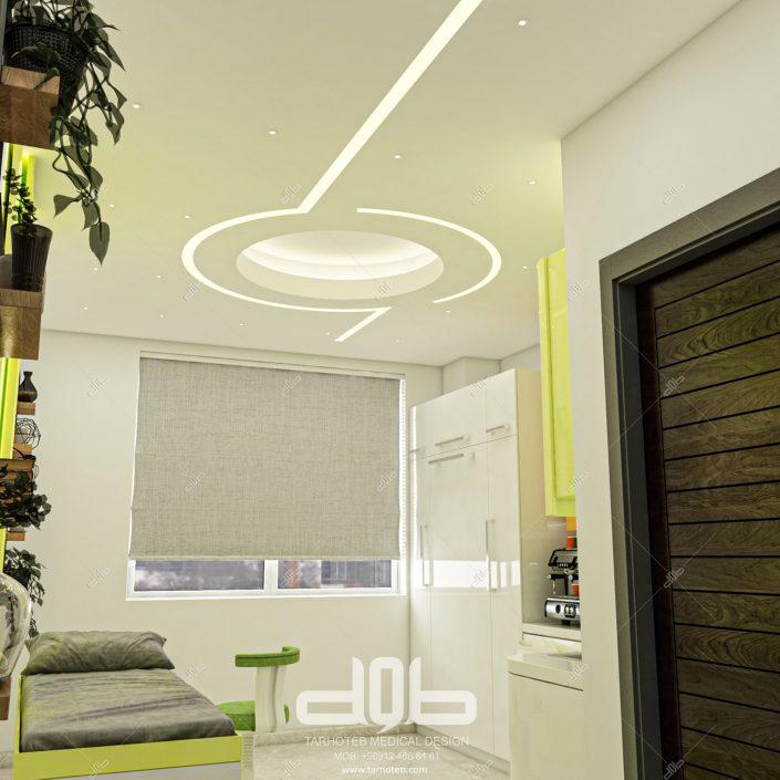 طراحی داخلی مطب دکتر غزنوی-min