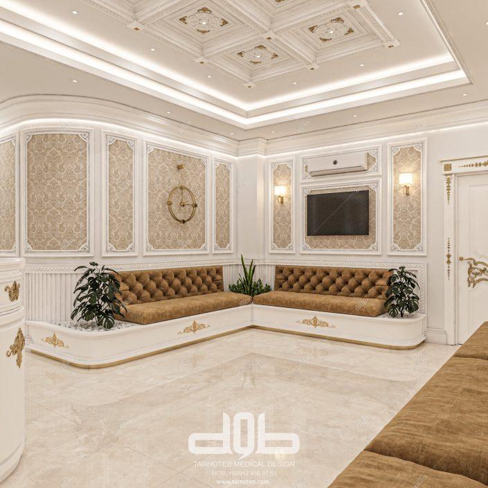 طراحی داخلی مطب دکتر محمود آبادی-min